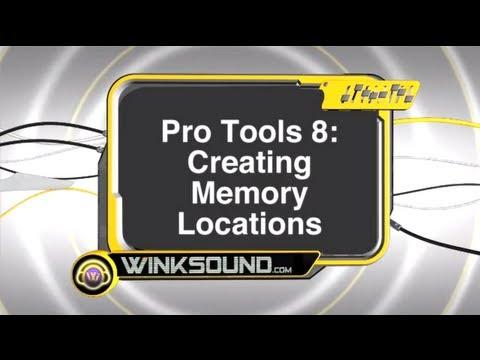 Pro Tools: Creating Memory Locations | WinkSound