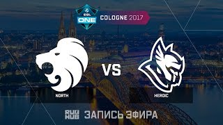 North vs Heroic - ESL One Cologne 2017 - de_inferno [Enkanis , ceh9]