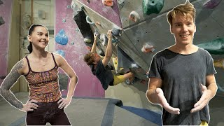 Cutting Loose on Boulders | Sofia is back! by Eric Karlsson Bouldering
