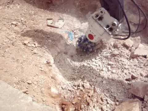 Video Youtube - Erkat Rotary Drum Cutter Trenching in Riyadh, Saudi Arabia