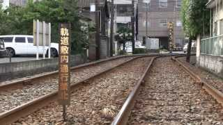 路面電車が走る街~熊本市