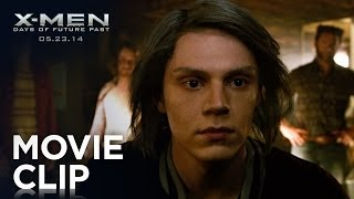 X-Men Days of Future Past | Quicksilver Clip [HD] | 20th Century FOX