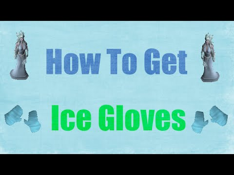 How To Get Ice Gloves + Safespot Oldschool Runescape 2007 (OSRS)