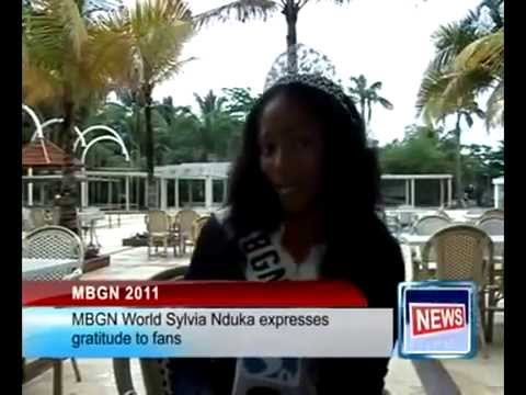Sylvia Nduka's First Interview as MBGN 2011