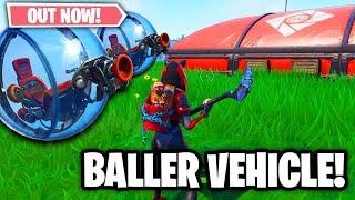 *NEW* THE BALLER! FORTNITE UPDATE! THE BALLER GAMEPLAY! (Fortnite Battle Royale Live)