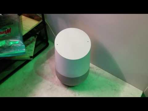 Google Home & The C.I.A., one week later.