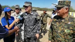 Director general realiza recorrido de supervisión por toda la zona este del país.