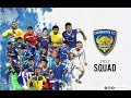 Chennaiyin FC  Complete Squad 201718 ISL 4 waptubes