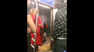 Pregnant girl with Abusive Babyfather 5 Train