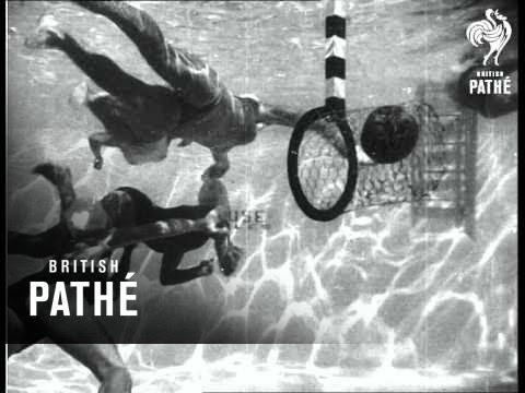 Girls Play Underwater Basketball (1934)
