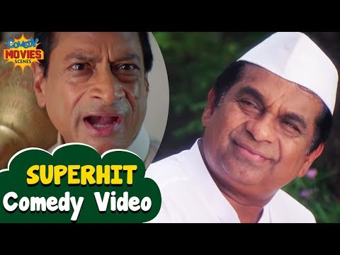 Best Comedy Videos | Brahmanandam and Ms Narayan Comedy | Hindi Comedy Scenes | Mr Medhavi Film