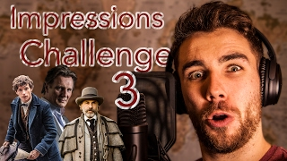 About 40 lines chosen by subscribers, challenge me for 'Impressions challenge 4' on:Twitter: https://twitter.com/c_hopkinsonFacebook: https://www.facebook.com/VoiceraptorOr in the comments below!Patreon: https://www.patreon.com/user?u=3213723Facebook: https://www.facebook.com/VoiceraptorTwitter: https://twitter.com/c_hopkinsonNow some of these impressions were pretty good and some were pretty poor if we are being honest, Was still a lot of fun to make! I really like the open ended ones that you come up with. Morgan Freeman singing my Heart will go on was a particular favourite, also love doing a bit of Dr King Shultz (Christoph Waltz).The Equipment that I use:Recording Microphonehttp://goo.gl/qGZCLTDSLR Camerahttp://goo.gl/MPX4RCLenshttp://goo.gl/7T7ZCHIntro Audio Michttp://goo.gl/Azug4nRode Mic Standhttp://goo.gl/3IIgYWAKG Headphoneshttp://goo.gl/sokDIzCharlie Hopkinson is a comedic impressionist who specialises in voices from current television shows and films.He started learning impressions in 2012, at the age of 20.After graduating from the University of Warwick in the summer 2013 he took 4 months out to concentrate on Youtube videos full time, including producing his most viewed video to date 'Morgan Freeman and 40 other impressions' with just over 9 million views. This foray into being a 'full time Youtuber' was cut short as he went travelling for 3 months before starting a 2 year teaching Graduate scheme with Charity 'Teach First'While teaching he has performed in and narrated the 4 episode series 'Lookalikes' as Morgan Freeman. The show and the narration received a positive reception. The show aired on Channel 4 during the prime time slot of Friday 10pm for three weeks. Charlie also performed with other well known impressionists for an unaired pilot.Charlie has worked for several prominent brands in relation to their products, including google and formula 1.Since the summer of 2016 Charlie has once again dived into the world of YouTube, for the first time pr