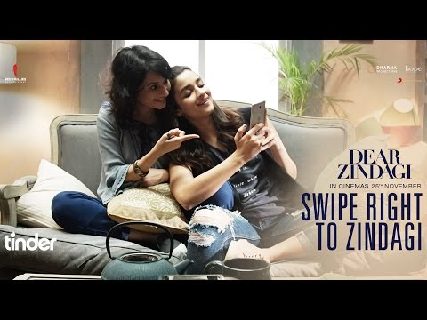 Swipe Right To Zindagi | Dear Zindagi | Alia Bhatt | In Cinemas Now