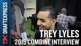 Trey Lyles 2015 NBA Draft Combine Interview
