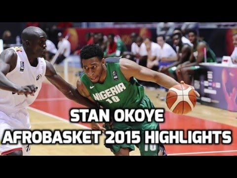 2015 Afrobasket Highlights