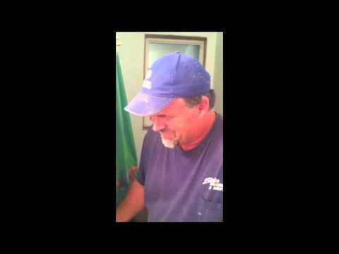 Funny Gagging Plumber