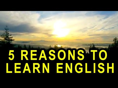 5 Reasons To Learn English