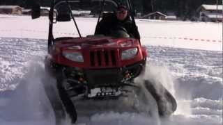 4. ARCTIC CAT Prowler XTZ 1000 with Tracks