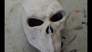 Сделать страшную маску из бумаги своими руками 18