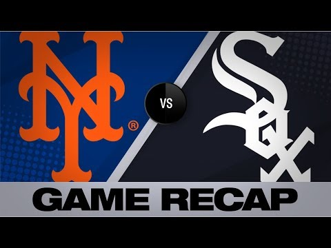 Video: Wheeler, Cano lead Mets to 7th straight win | Mets-White Sox Game Highlights 8/1/19