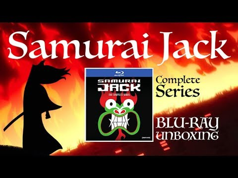 SAMURAI JACK Complete Series Blu-ray Unboxing!