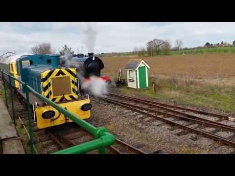The Mangapps railway museum spring steam gala