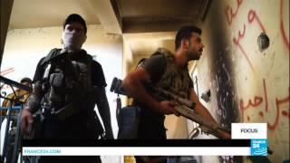 Mosul: Iraqi snipers battle the Islamic State group