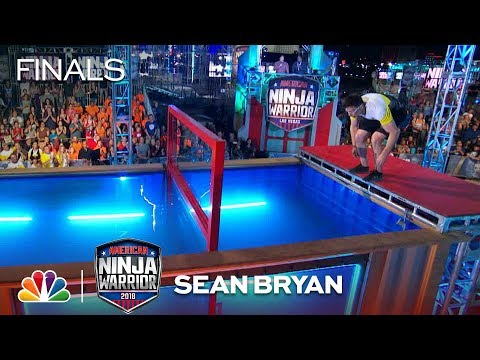 Sean Bryan at the Vegas Finals: Stage 2 - American Ninja Warrior 2018