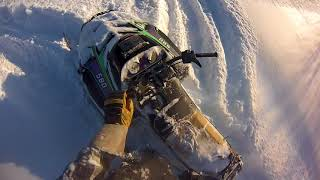 4. EXT 580 carving up fresh powder with timbersled 450, Apex se, and turbo nytro, part 2