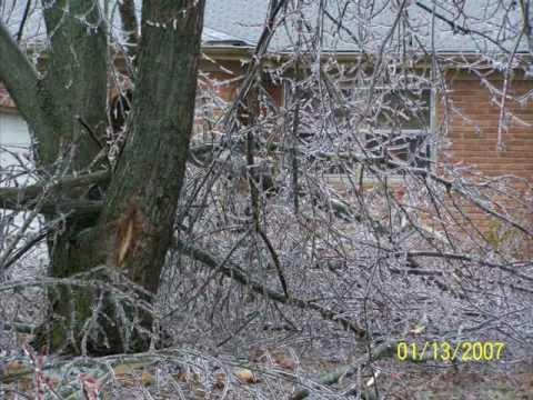 Springfield Missouri Ice Storm 2007