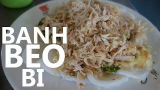 Binh Duong Vietnam  City pictures : VIETNAMESE FOOD - banh beo bi in Binh Duong!