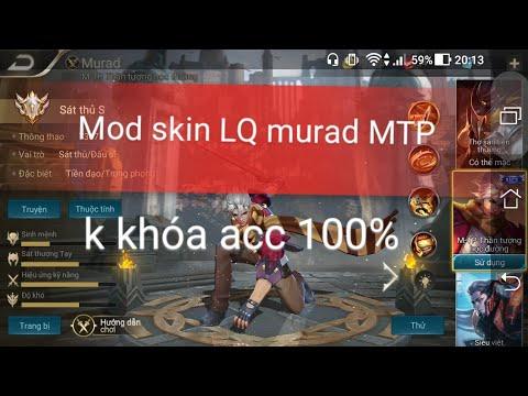 Mod skin murad MTP Na boy công nghệ - Thời lượng: 10 phút.