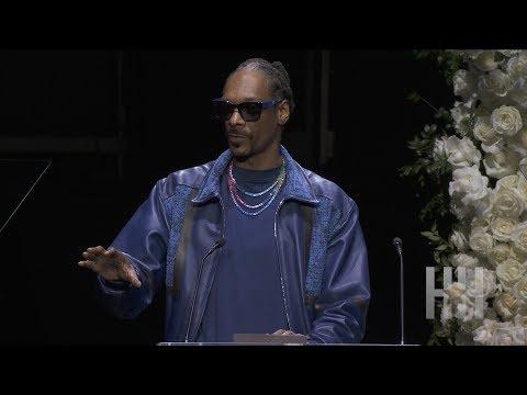 Snoop Dogg Speaks At Nipsey Hussle's Memorial Service