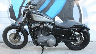 6. 2012 Harley Davidson Sportster XL1200N Nightster Motorcycle For Sale