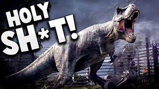 Jurassic World Evolution Gameplay - THE BEST DINOSAUR GAME EVER - Jurassic World Evolution Part 1