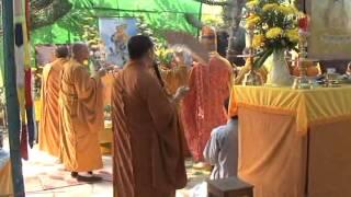 Quang Nghiem 1965 Lễ Cúng Dường Trai Tăng  Tại Tư Gia Năm 2010  2 5