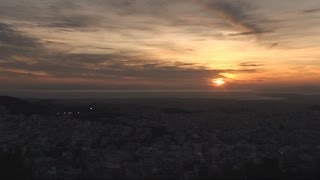 Sunset In Athens [HD]