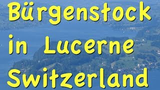 Please subscribe:  http://bit.ly/2pmdyeuSwitzerland playlist  http://bit.ly/2qsUismOne of the nice excursions out of town when you're visiting Lucerne is a nature hike along the face of a cliff, and it's easy. Starting with boat ride to Burgenstock then a funicular ride up the hill for some hiking through the forest.If you're on your way to Mount Pilatus for an excursion you can make this easy stop along the way. You'll find the boat ride gives scenic vistas of mountains all around Lake Lucerne and it just takes thirty-five minutes to get there.The boats also have food-service, some with an elaborate lunch at the restaurant. Hop off at the Burgenstock dock. You can use one ticket that will take you all the way to Pilatus and get off partway here at Burgenstock and then get back on the boat and continue to Pilatus later.You'll need to purchase a ticket for the funicular lift which you can do at the office right here on the dock. The sign on the dock says Kehrsiten-Burgenstock.You ride this funky, old-fashion funicular to the top, and notice the open air balcony. It's the original railcar, the oldest funicular in Switzerland, first opened in 1888, reaching maximum a gradient angle of 58°. It's pulled up the steep hill by cables with automatic electric propulsion.Upon reaching the top you can take a lovely nature hike following the signs to the cliff walk.This is a level path with sweeping views across the lake and straight down the rock face of the mountain looking down about 1000 meters.The map shows the route in a summary, you go up the hill by funicular and then you walk along this cliffside trail, from the Burgenstock resort over to the elevator, along the face of a vertical thousand-meter high cliff with beautiful views out across Lake Lucerne.This cliff path was built between 1900 and 1905 and its legendary. Rits name is the Felsenweg and it's actually part of a slightly longer trail system.You could keep going and walk all the way around the Burgenstock mountai