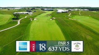 Shane Bacon previews Hole 18 at Erin Hills | 2017 U.S. Open
