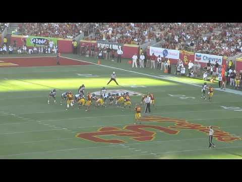 Greg Townsend Jr. sack vs Hawai'i 2012 video.