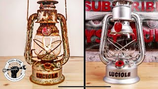 1940 Petrol Lamp - Restoration (using MC-51)