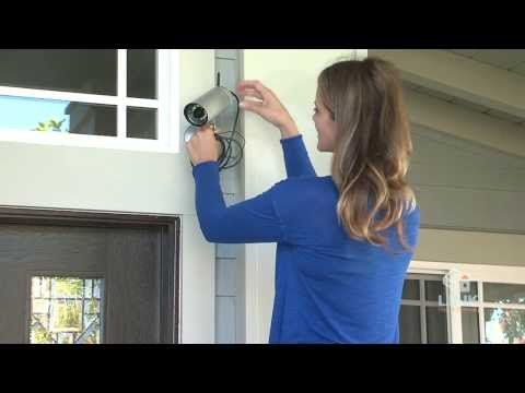 How To Install an Outdoor Wireless Camera (Link Home Security)