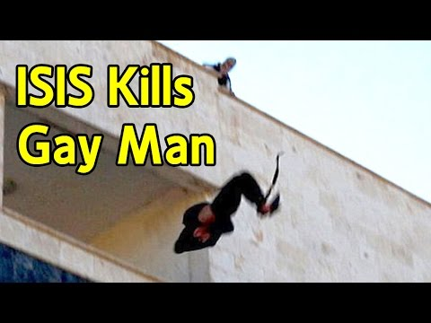 ISIS Throws Gay Man Off Building - Caught On Camera