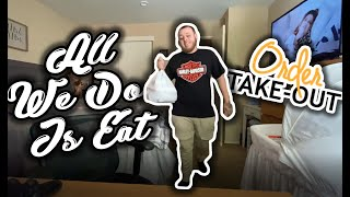 Ordering Takeout During Quarantine by The Baked Clam