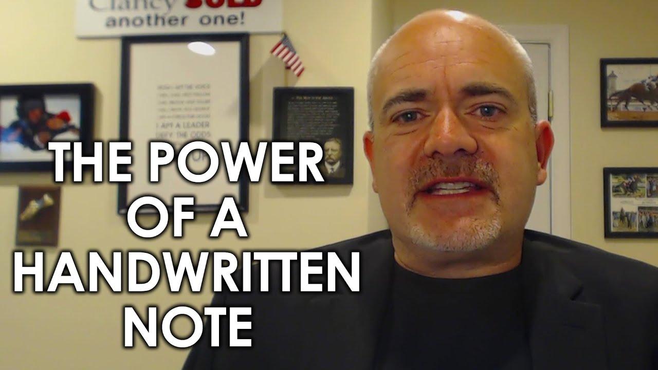 Sending Your Clients Handwritten Notes