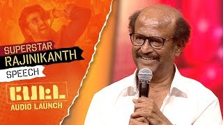 Video Super Star Rajinikanth's Speech | PETTA Audio Launch MP3, 3GP, MP4, WEBM, AVI, FLV Desember 2018