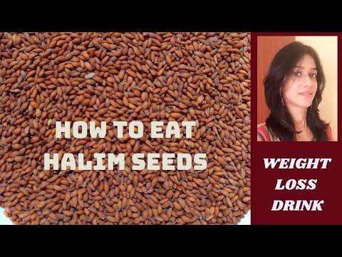 Halim Seeds Ko Kaise Khayein   Weight Loss Drink   (In Hindi)