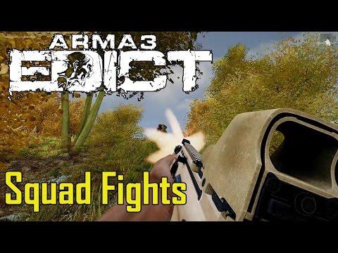 ArmA 3 Edict: Hardcore Squad Fights (видео)