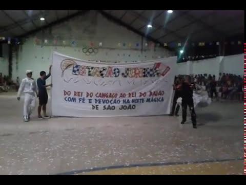 Quadrilha Estação Junina de Serrinha 2015 Festival Junino em Vila Flor RN (ABERTURA)