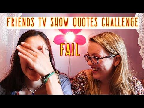 Quotes on friendship - Friends Quotes Challenge (FAIL!)  Sarah Douglas